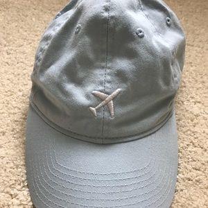 Blue Plane Dad Hat